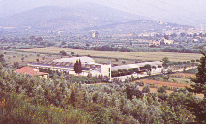 1985 Factory expansion